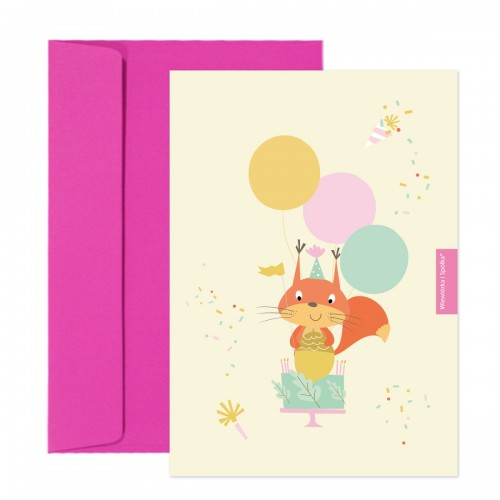 kartka-na-urodziny-tort-Wiewiorka-i-Spolka-squirrels-birthday-cake-wishes-card-Squirrel-Company